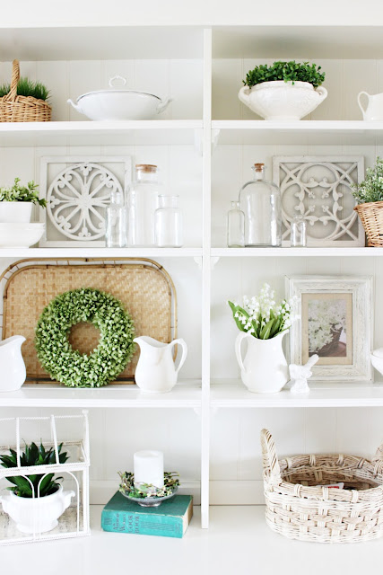 Decorate With Me | Springtime Hutch