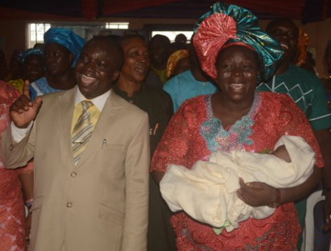 pastor wife gives birth 3 years of pregnancy