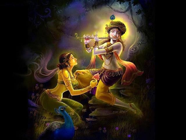 cute devta krishan god wallpaper