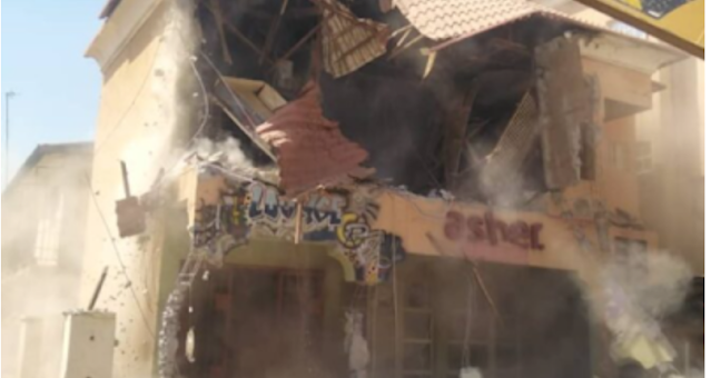 Kaduna demolishes the hotel over 'plans to host s.e.x party'