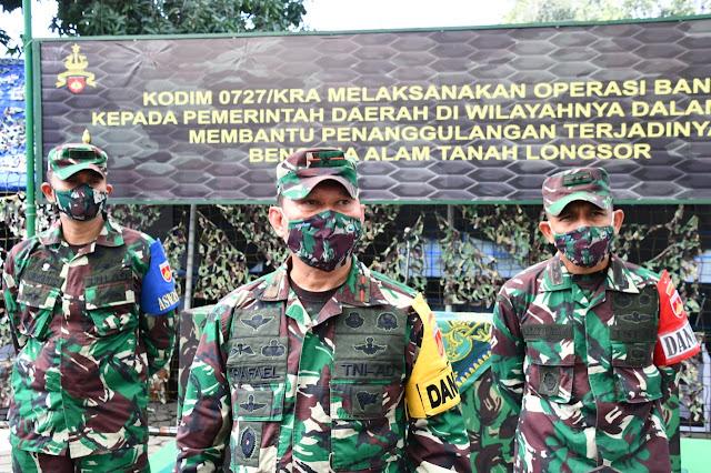 KodimKaranganyar - Buka Latihan Posko I Kodim 0727 Karanganyar, Brigjen TNI Rafael Granada Baay Tekankan Protokol Kesehatan