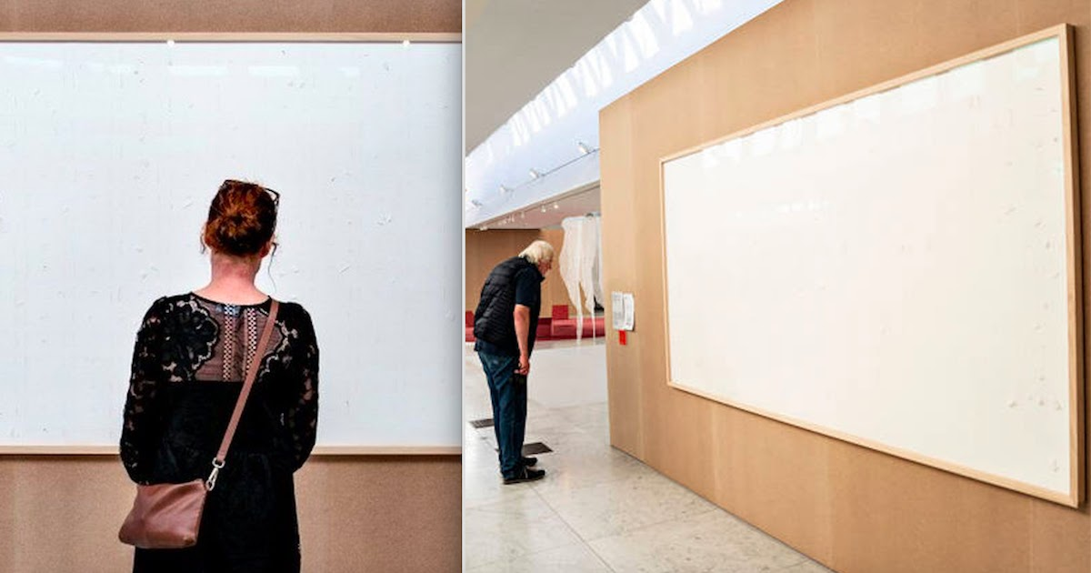 Museum In Denmark Asks Artist To Pay Back Money After Producing Blank Canvasses