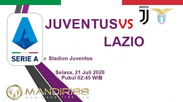 Prediksi Juventus Vs Lazio, Selasa 21 Juli 2020 Pukul 02.45 WIB @ RCTI