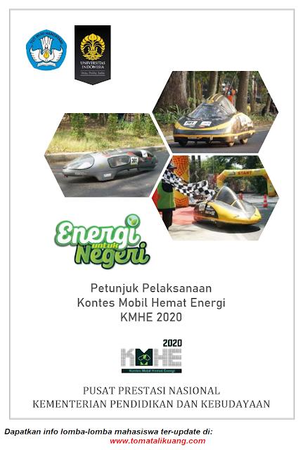 panduan petunjuk pelaksanaan kontes mobil hemat energi kmhe tahun 2020 pdf tomatalikuang.com