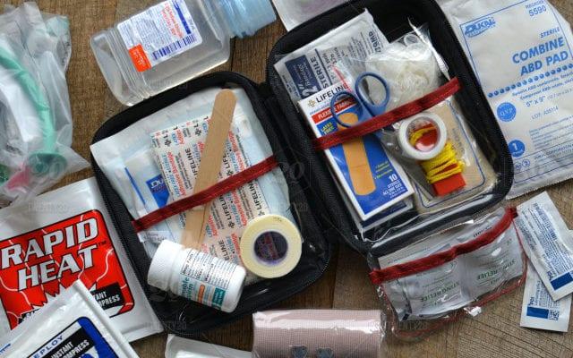 Botiquin de primeros auxilios que pueden salvar vidas