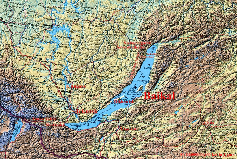 Lake Baikal World Map.Lake Baikal Ecosia