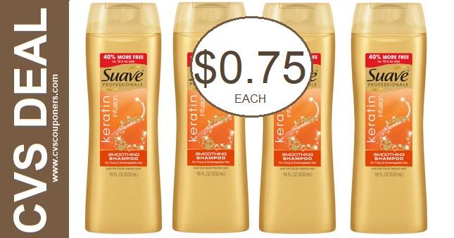 Suave Shampoo CVS Deal $0.75 11-1-11-7