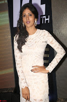 Chandini Chowdary in white Tight dress at Shamanthakamani pre release function ~  Exclusive 046.JPG