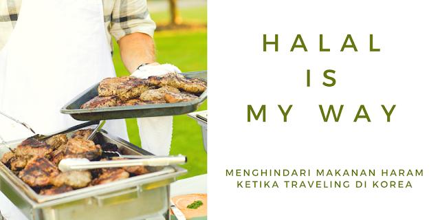 makanan halal ketika traveling  di korea