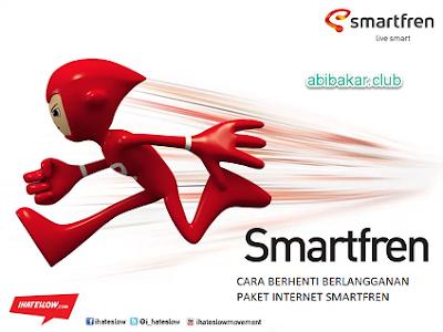 Cara Berhenti Berlangganan Paket Internet SmartFren