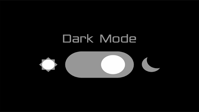Cara Membuat Night Mode (Dark Mode) di Blogger