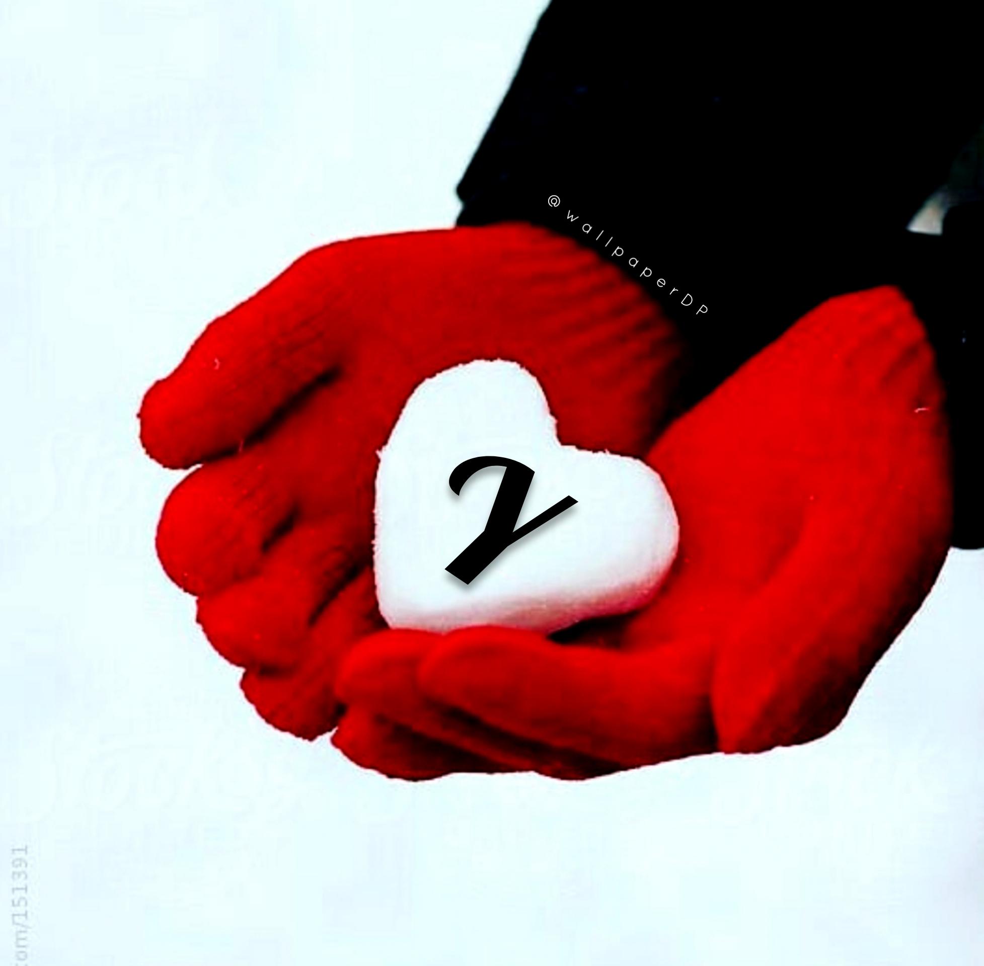 Snow Heart Winter Alphabet Letters Images For Whatsapp Dp Download Wallpaper Dp