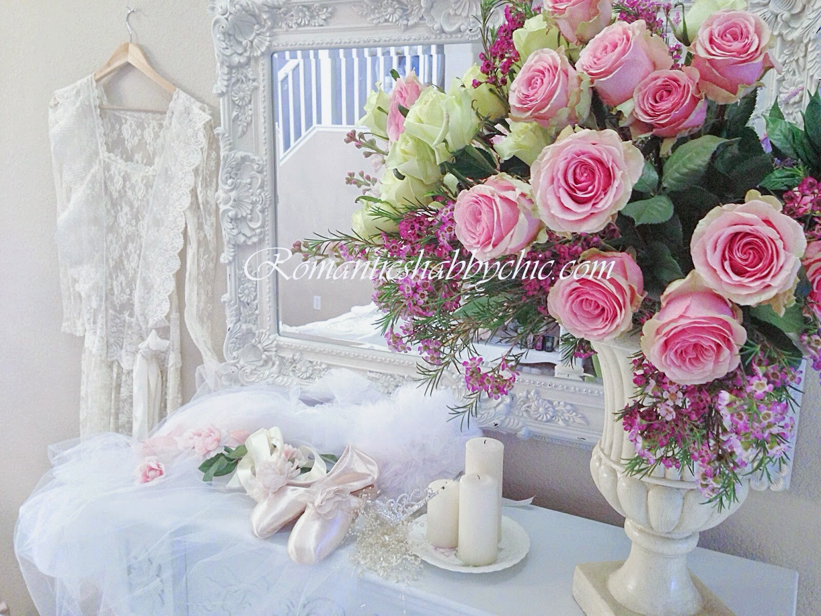 Romantic shabby chic home romantic shabby chic timeless - What is shabby chic ...