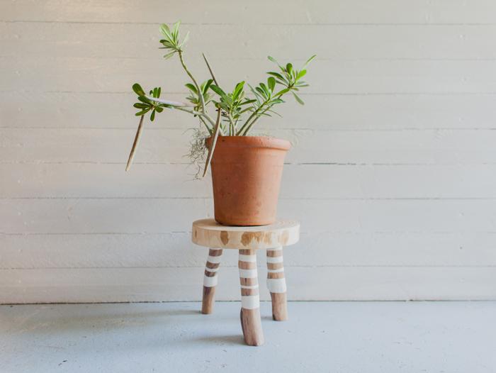 Australian Wooden Plant Stand
