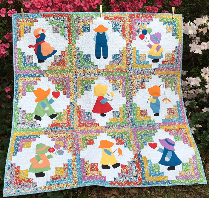 Debby Kratovil Quilts: Sunbonnet Sue and Overall Sam