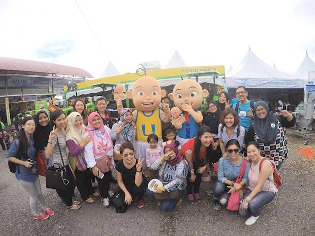 MAHA 2016 (Malaysian Agriculture, Horticulture & Agrotourism) @ MAEPS, Serdang with fellow bloggers
