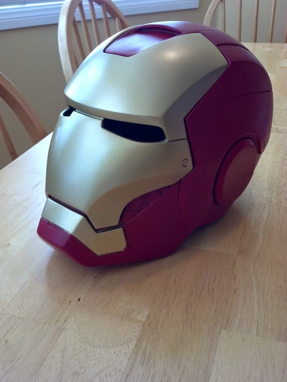 Iron Man helmet prop replica