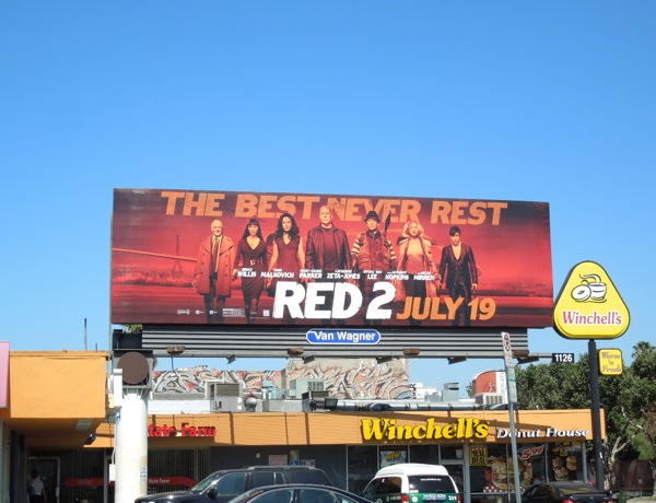 Red 2 billboard ad
