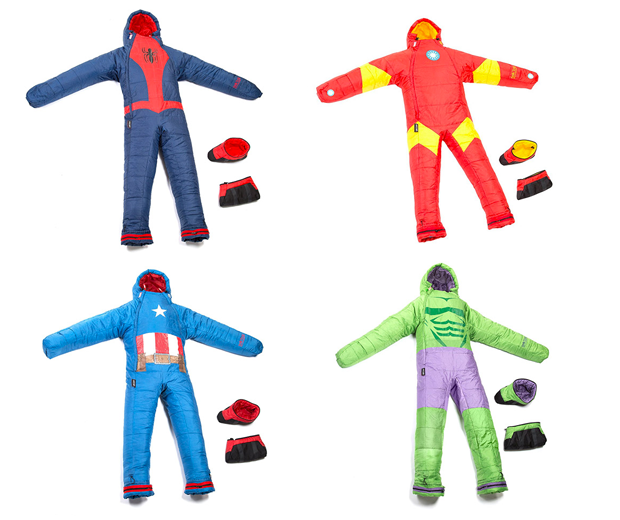 Wearable Marvel Sleeping Bags
