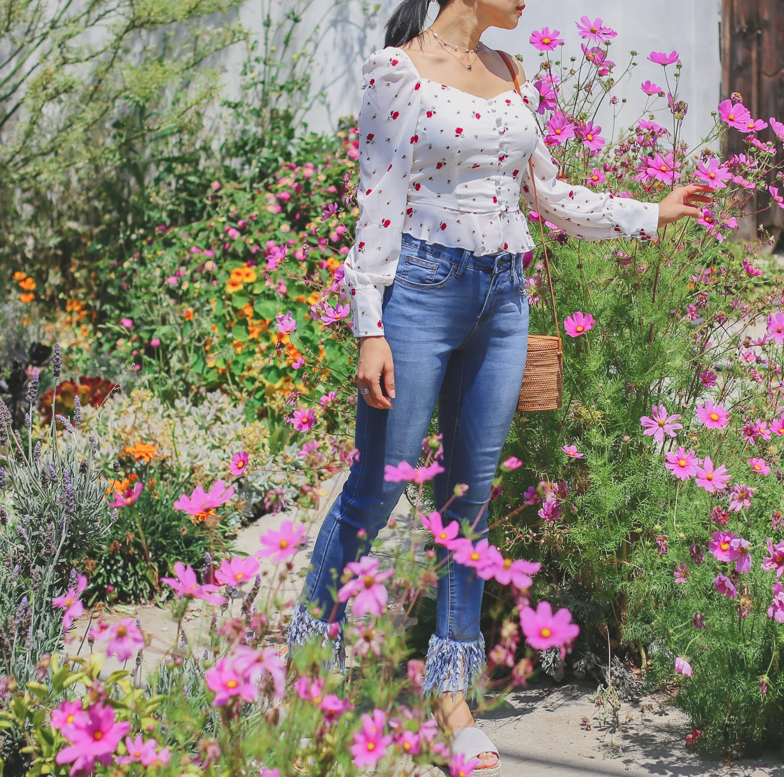 best floral tops summer 2018