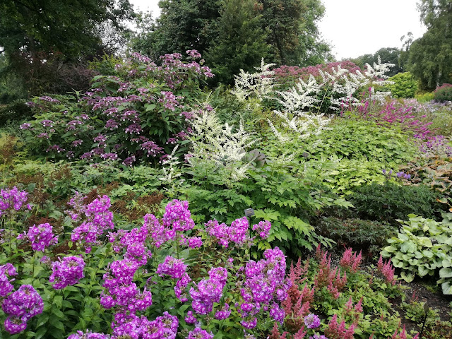 English gardens ogród angielski, angielska rabata bylinowa