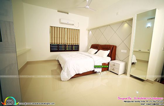 finished furnished house interior in Kerala