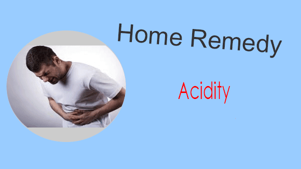 home remedy for acidity