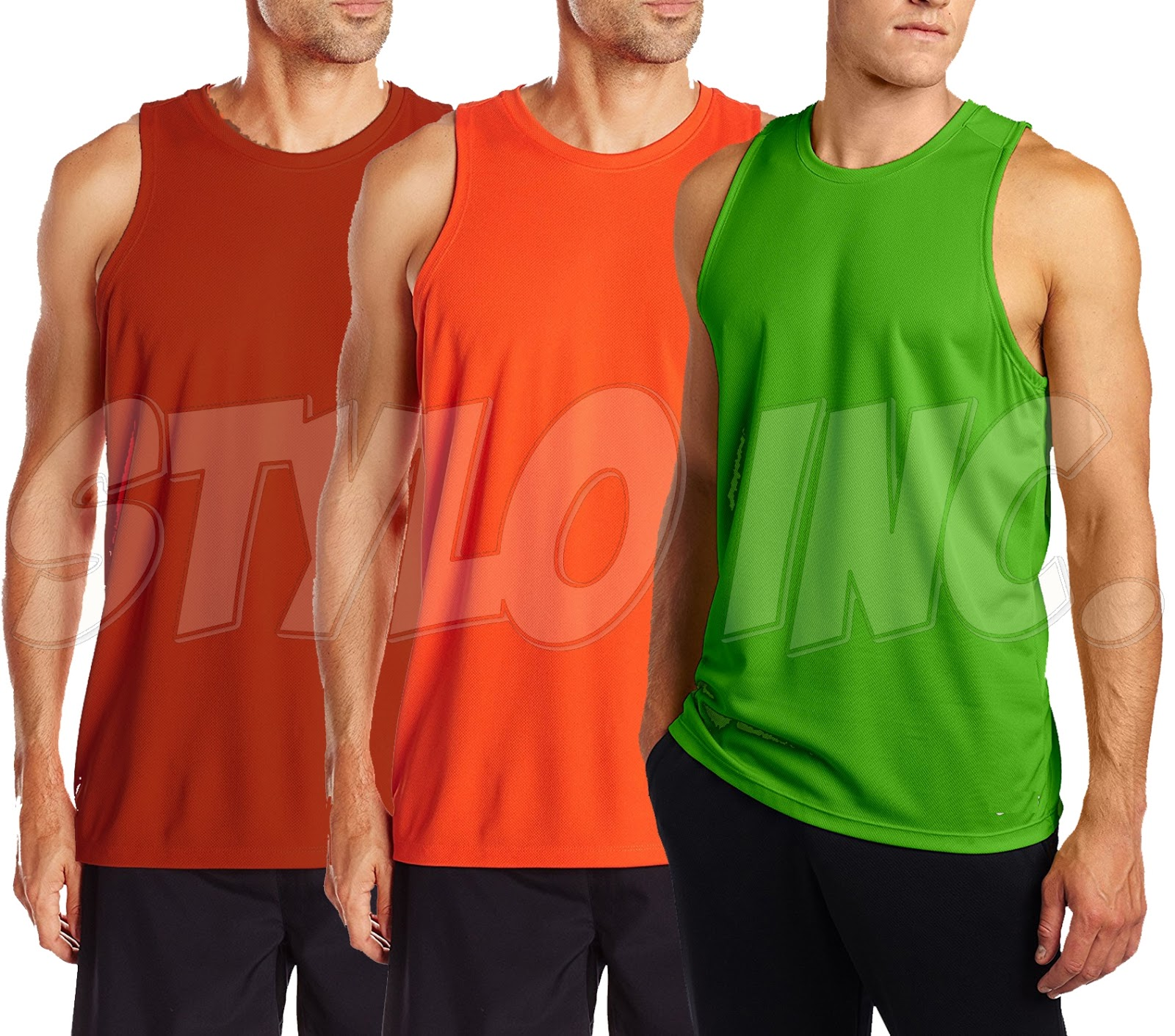 2 Color Reversible Dri-Fit Singlet 6pcs Bundle