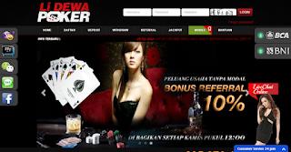 Website Poker Terpercaya Berbonus Seumur Hidup