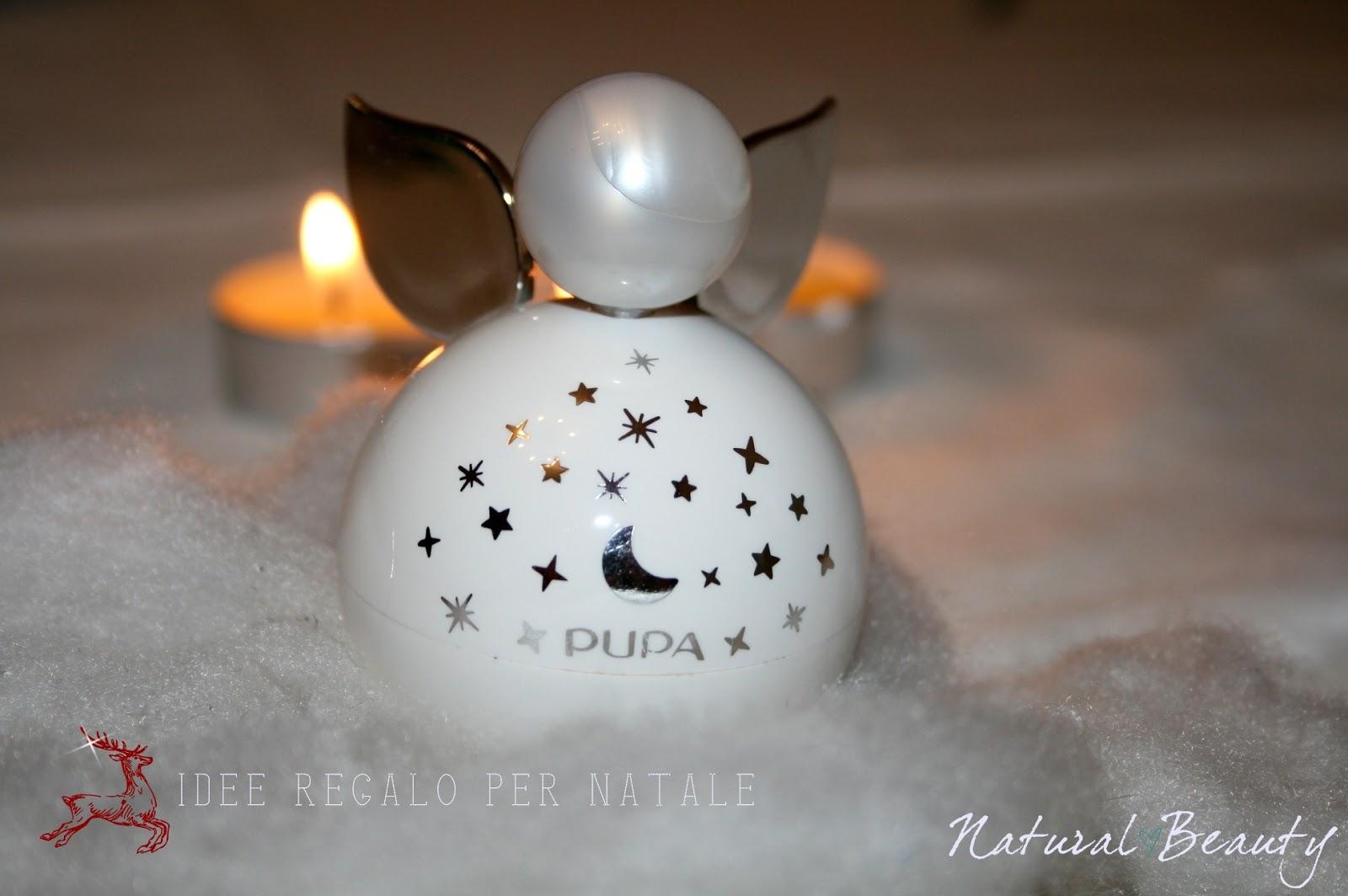 Natural beauty idea regalo per natale pupa angel for Idea per regalo