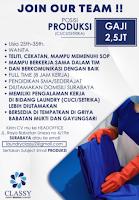 Lowongan Kerja Surabaya di Classy Laundry Jawa Timur Januari 2021