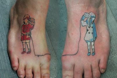 Tatuaje amigos