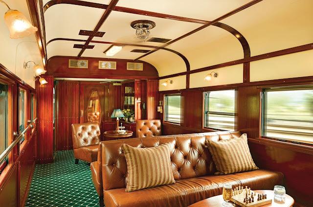 Rovos Rail Afrika, Club Lounge