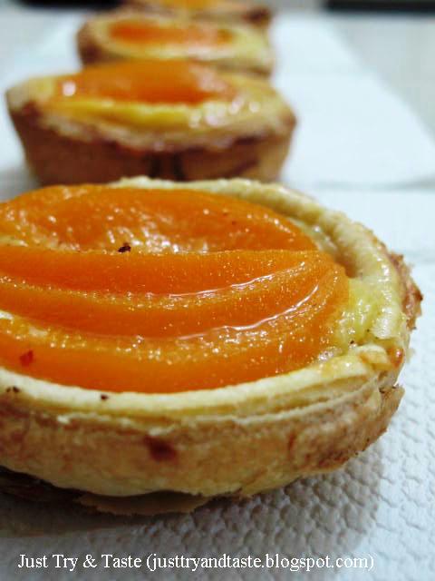 Resep Pie Isi Peach dari Homemade Puff Pastry JTT