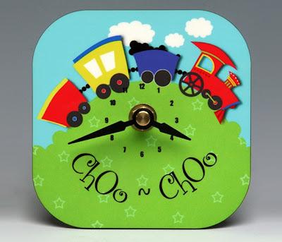 Train Clock