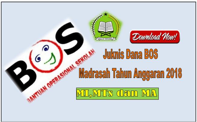 Download Buku Panduan BOS Madrasah Tahun Anggaran 2018