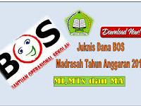 Buku Panduan  BOS Madrasah Tahun Anggaran 2018
