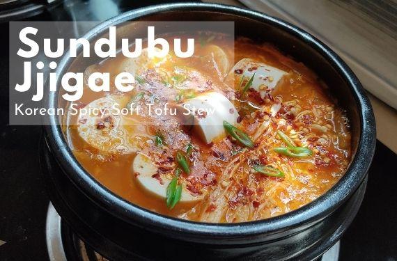 korean spicy kimchi stew