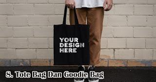 Tote Bag Dan Goodie Bag merupakan salah satu rekomendasi souvenir kece di awal tahun