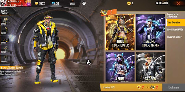 How To Get Free Fire New Incubator Time Travellers Bundle