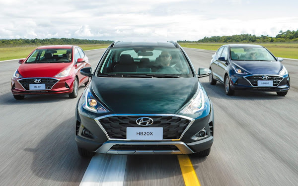 Hyundai HB20 assume a liderança entre os carros mais vendidos do Brasil
