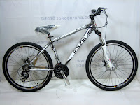 A 26 Inch Element Police 911 Vancouver Mountain Bike in Grey