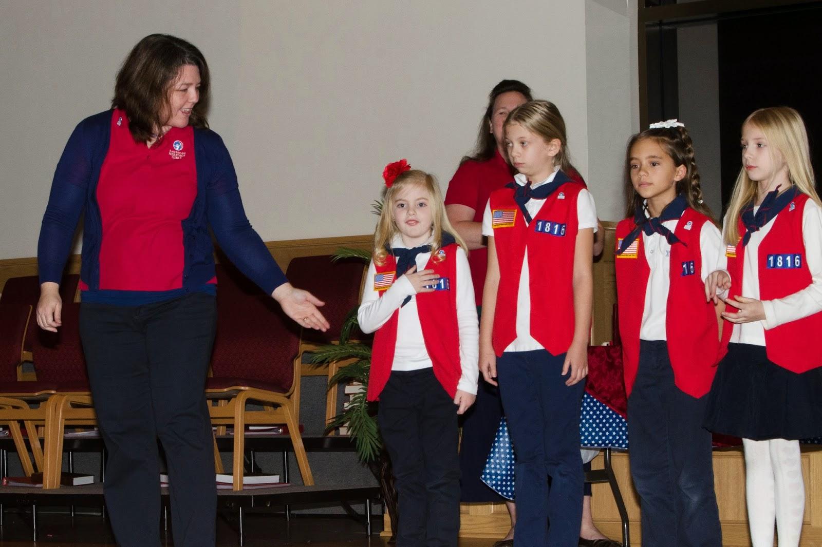 Warm Winter Wishes American Heritage Girls