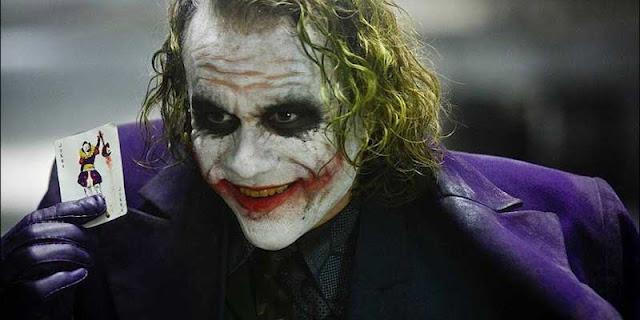 Heath Ledger es el Joker