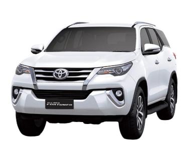Mobil Toyota Fortuner 2.4 VRZ A/T Terbaru