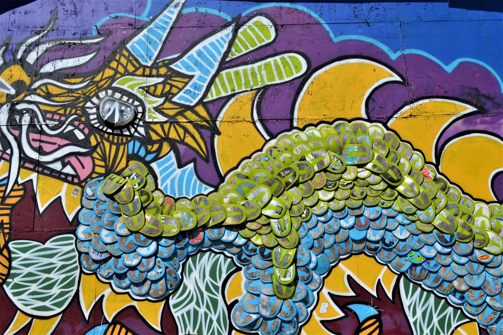 Città libera di Christiania murales