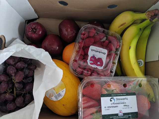 Fruit box from Grainger Delivery