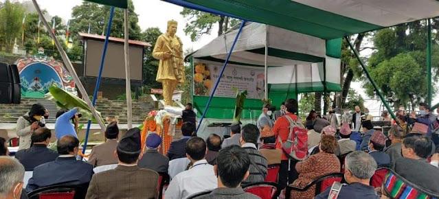 Darjeeling People celebrates birth anniversary of poet Bhanu Bhakta