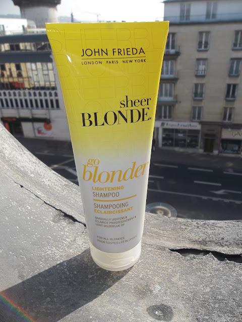Shampooing Éclaircissant Go Blonder Sheer Blonde - John Frieda