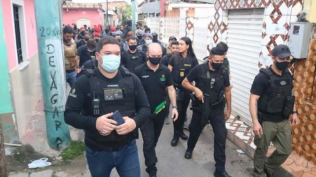SSP-AM deflagra operação Cidade mais Segura e prende 39 pessoas em Manaus
